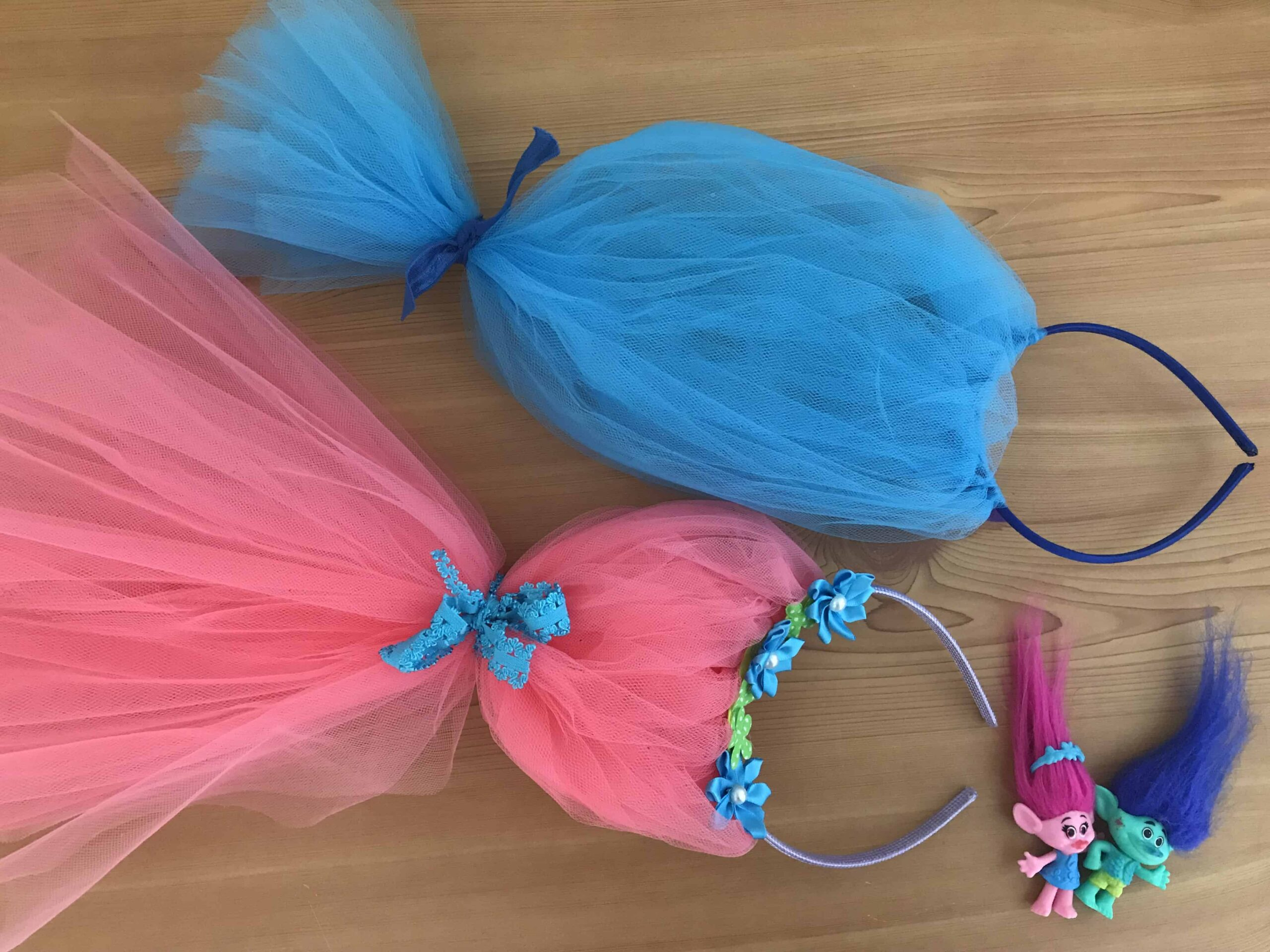 How to make a Poppy trolls headband