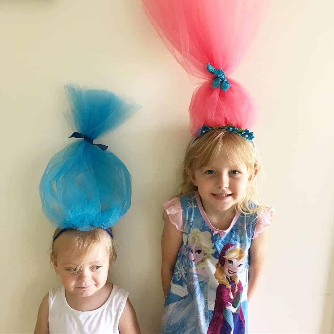 How to make troll headbands