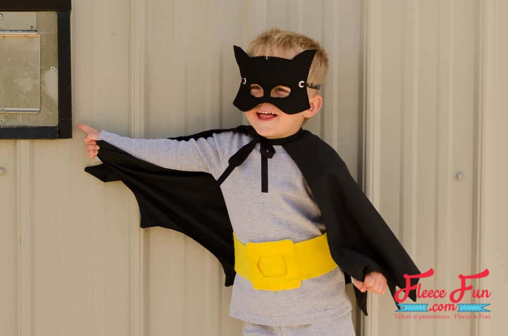 Diy classic batman costume