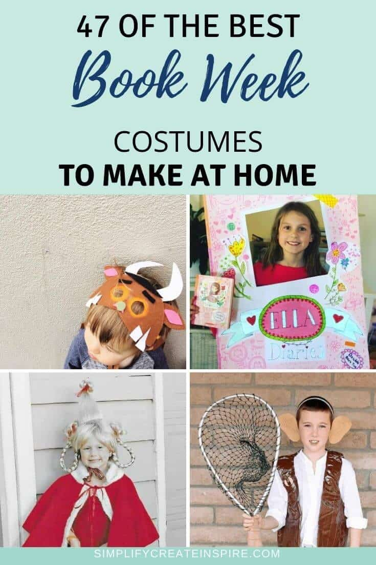 Easy diy book week costumes for kids