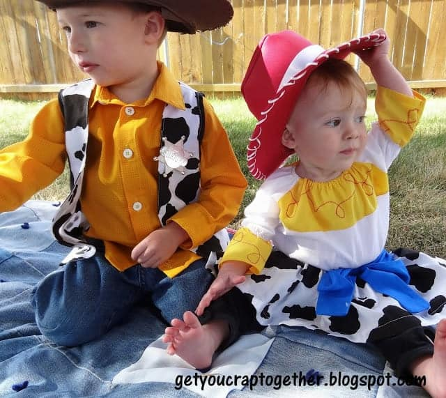 Toy story woody and jessy costumes