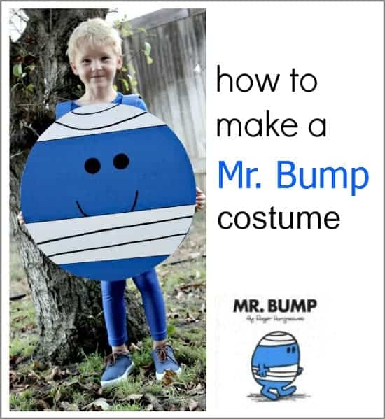 Mr men mr bump costume