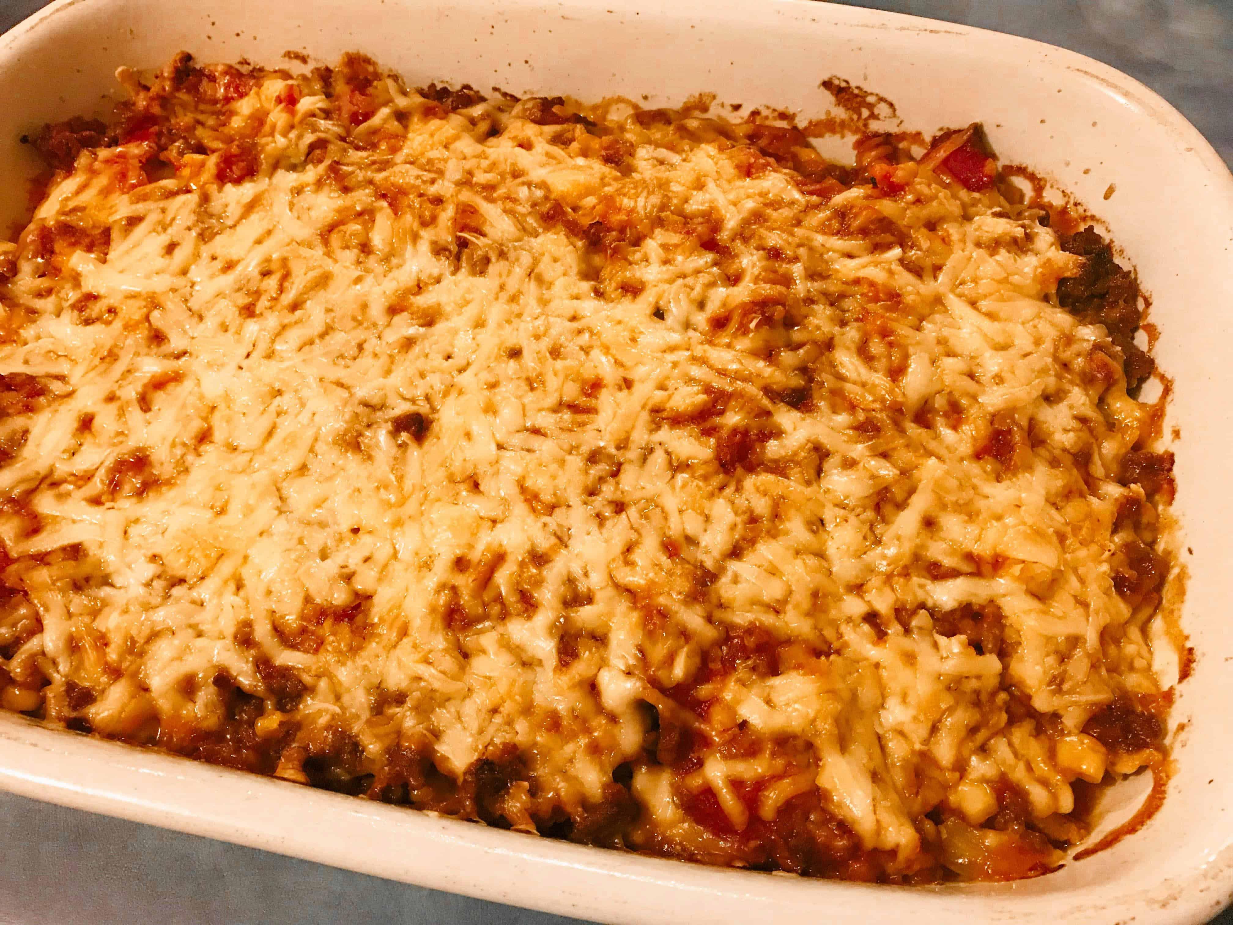 Mexican potato bake recipe