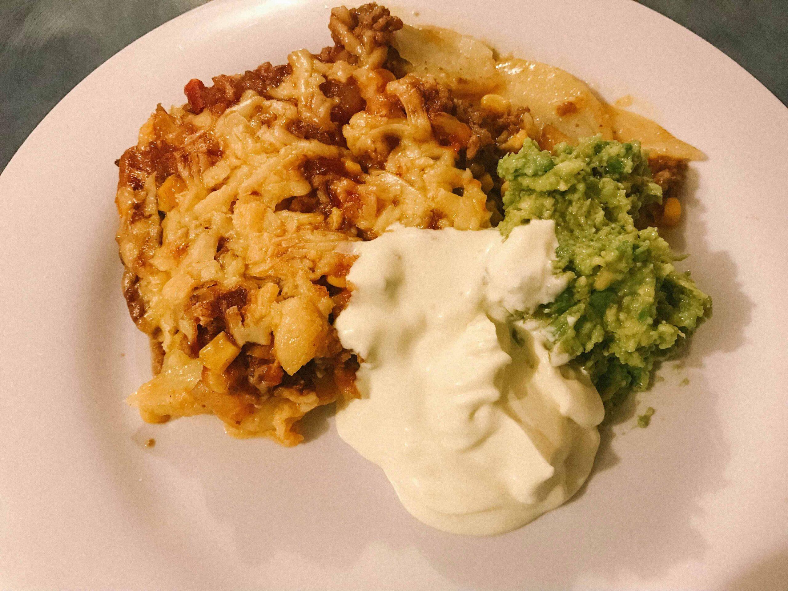 Taco Potato Bake Recipe