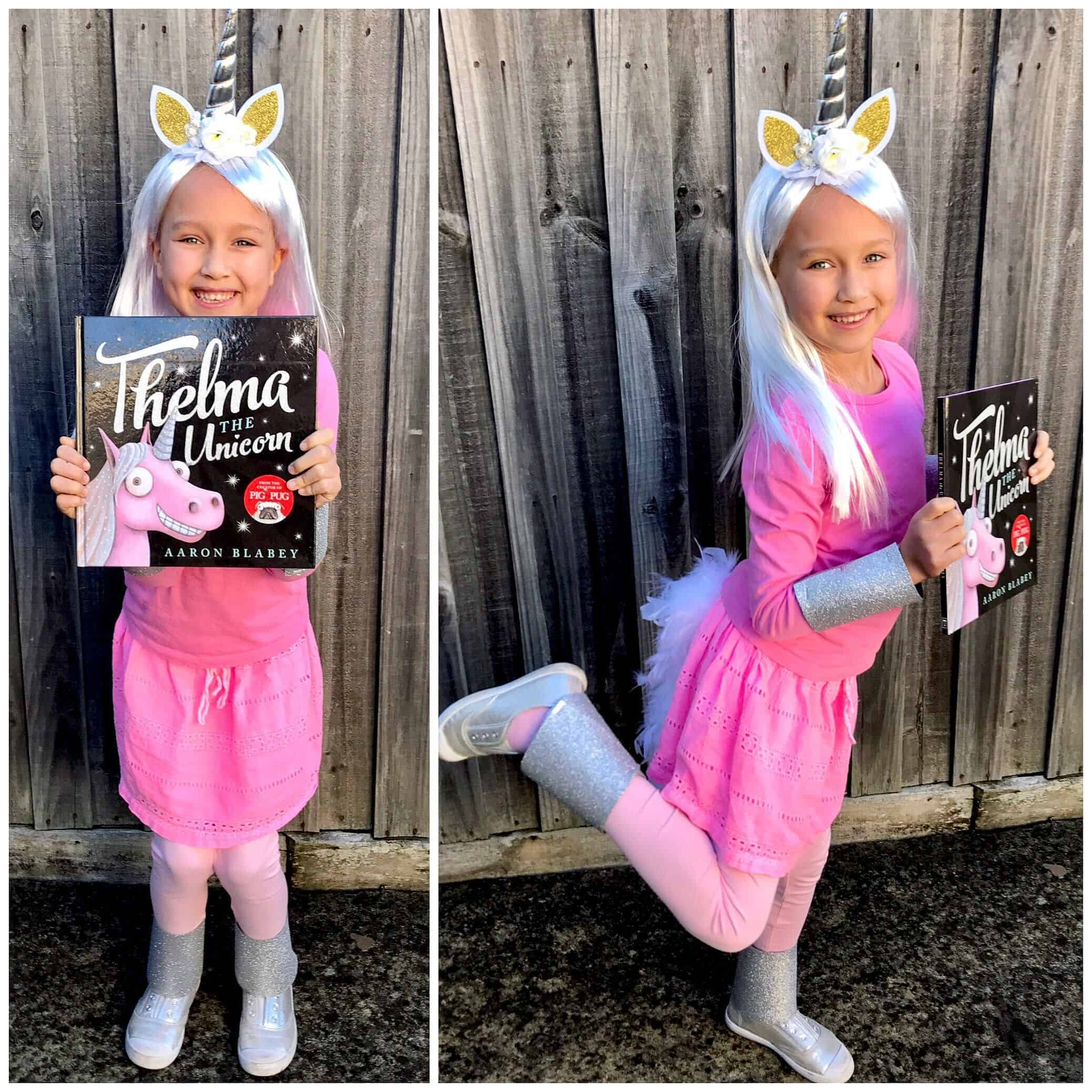 Thelma the unicorn book week costume ideas