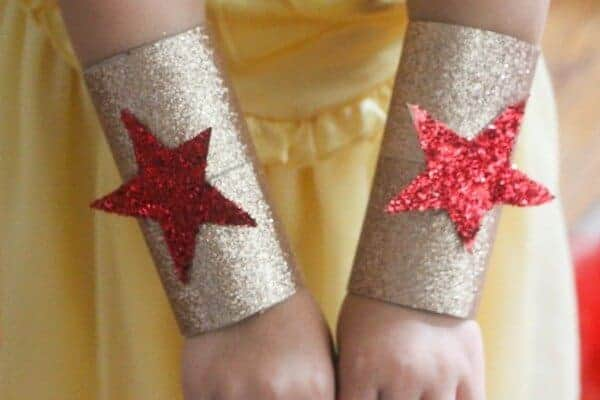 Wonder woman cuffs costume