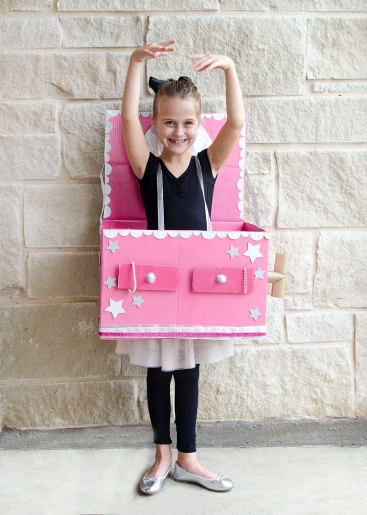 Ballerina jewelry box costume4