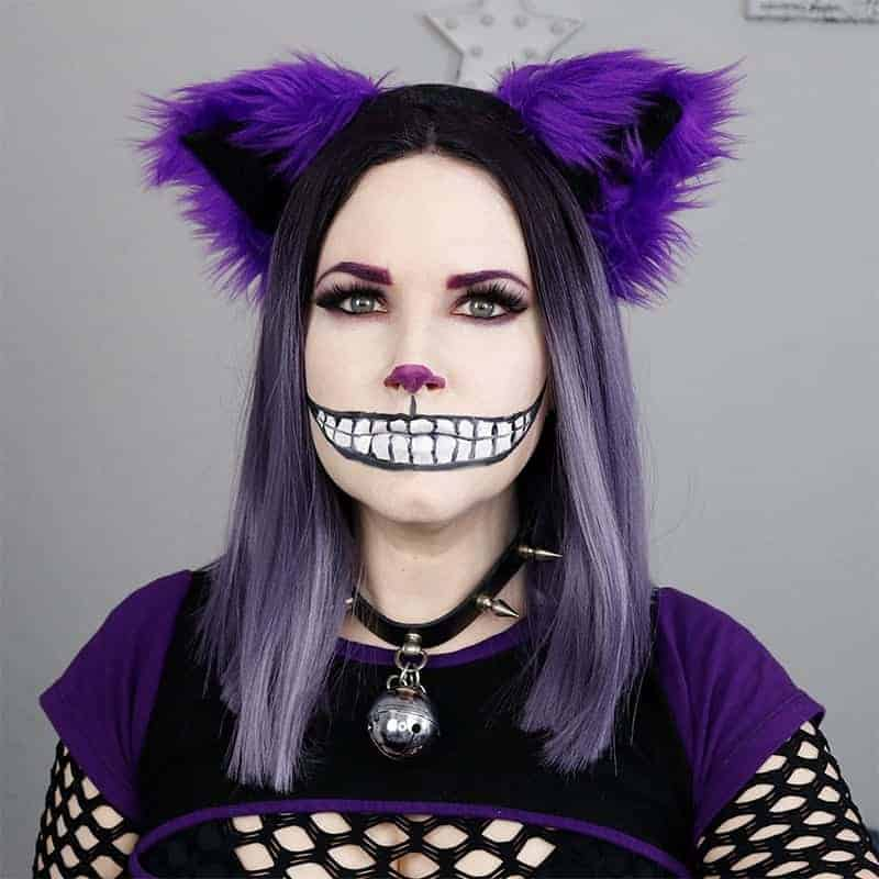 Chesire cat make up tutorial