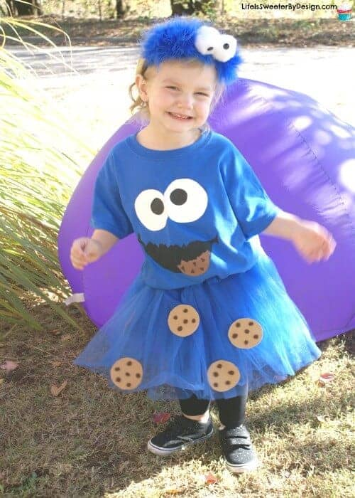 Cookie monster costume post