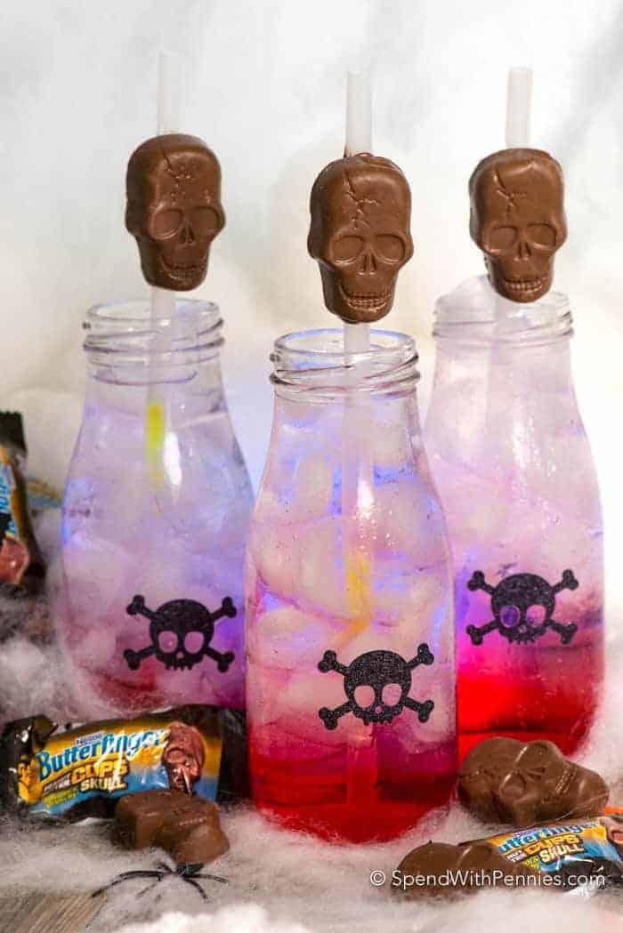 Glow in the dark skeleton juice 24 23 spooktacular kid-friendly halloween mocktails