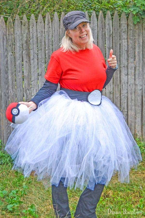 Diy pokemon costume poke ball