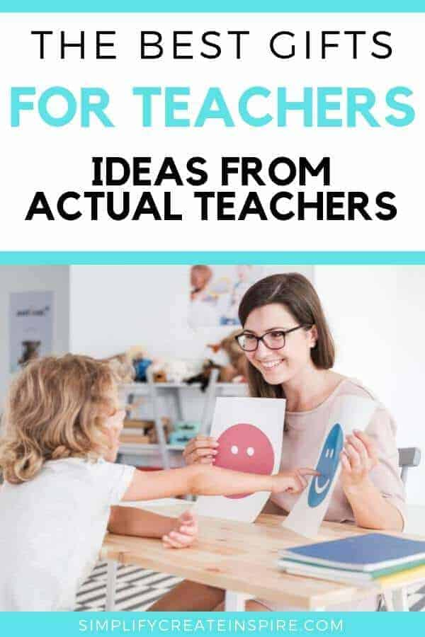 Creative Teacher Gift Ideas - Gifts They Really Want