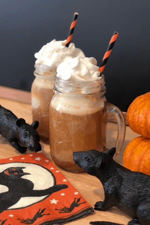 Salted caramel apple cider float recipe 3 1 23 spooktacular kid-friendly halloween mocktails