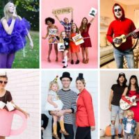 Funny DIY halloween costumes for adults, couples, groups and families