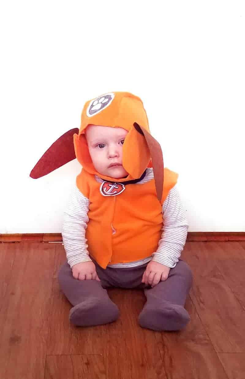 Zuma paw patrol baby costume f2 33 diy halloween costumes for kids & babies for 2021