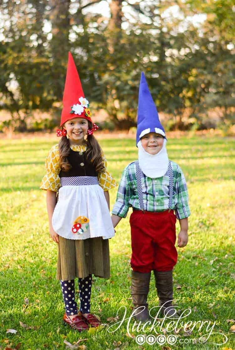 Diy gnome costumes 1