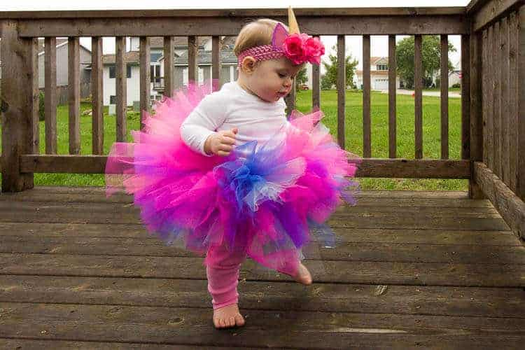 Baby unicorn costume diy