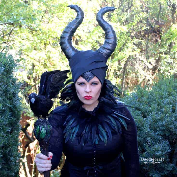 Diy halloween costume for women - maleficent costume