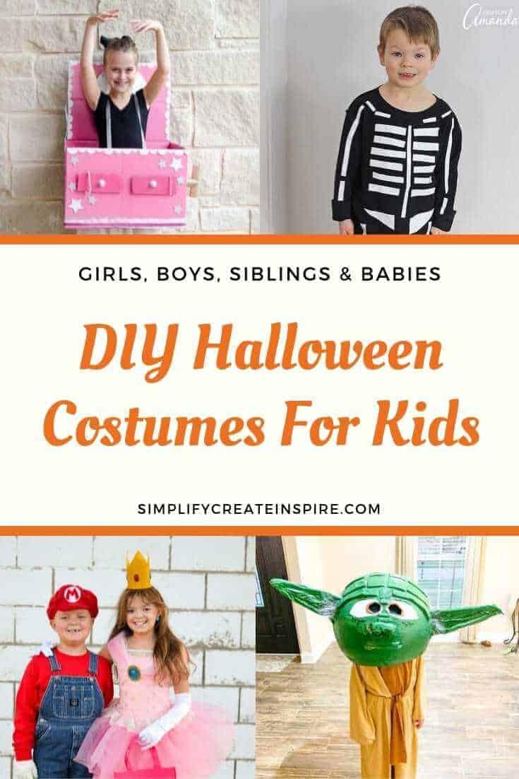 DIY Halloween Costumes For Kids & Babies