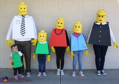The lego family2