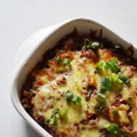 Cheesy Mexican Potato Casserole Recipe