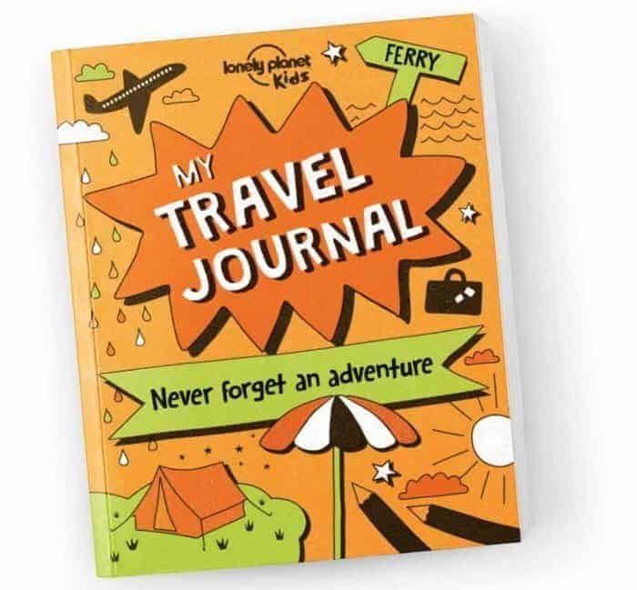 Lonely Planet kids my travel journal
