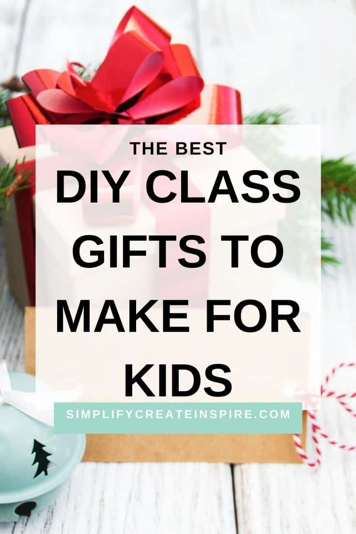 Diy class gift ideas for students