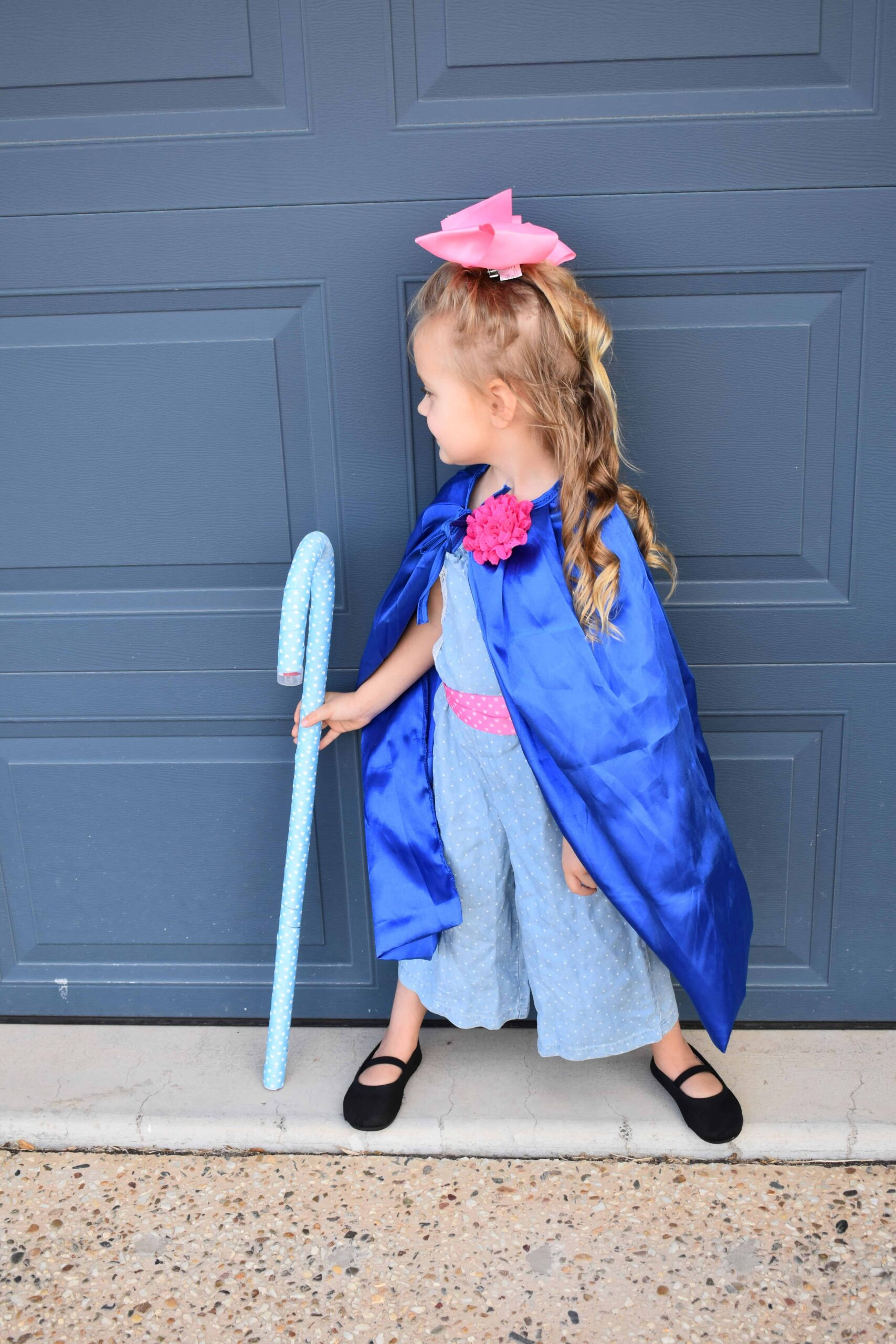 DIY Bo Peep Costume accessories