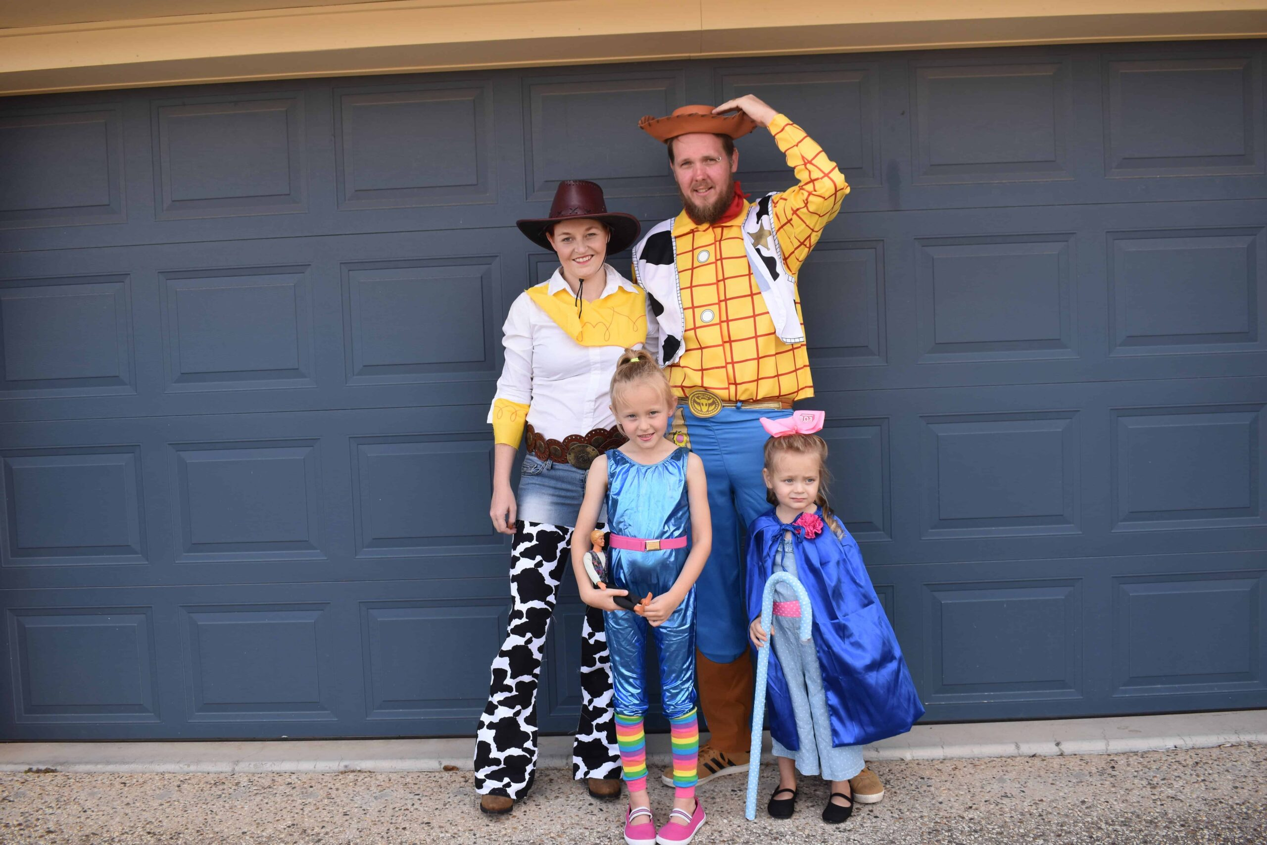 Diy toy story family costume