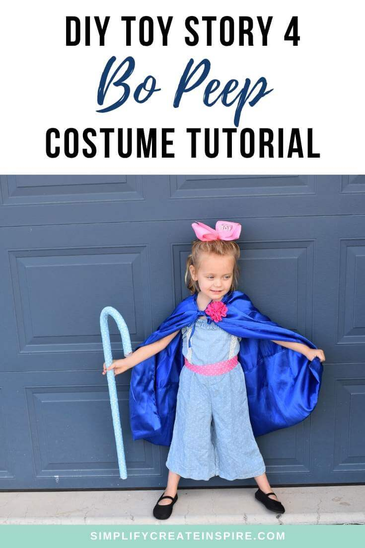 DIY Toy Story Bo Peep Costume Tutorial