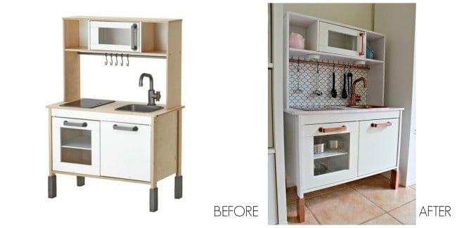 Ikea before and after