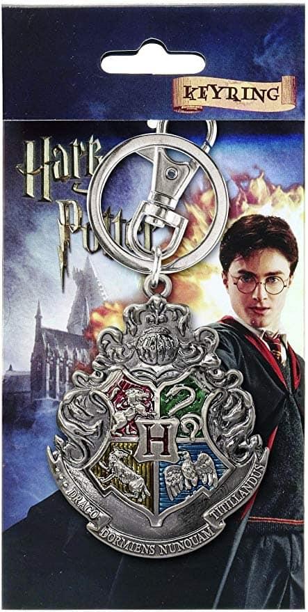 Harry Potter Hogwarts School Crest Keychain