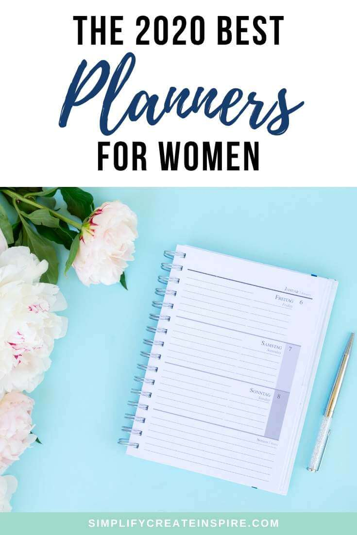 The best planners for women in 2020