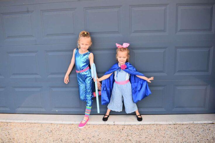 DIY Toy Story Barbie Costume