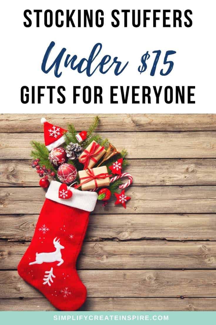 Cheap stocking stuffer ideas under $15