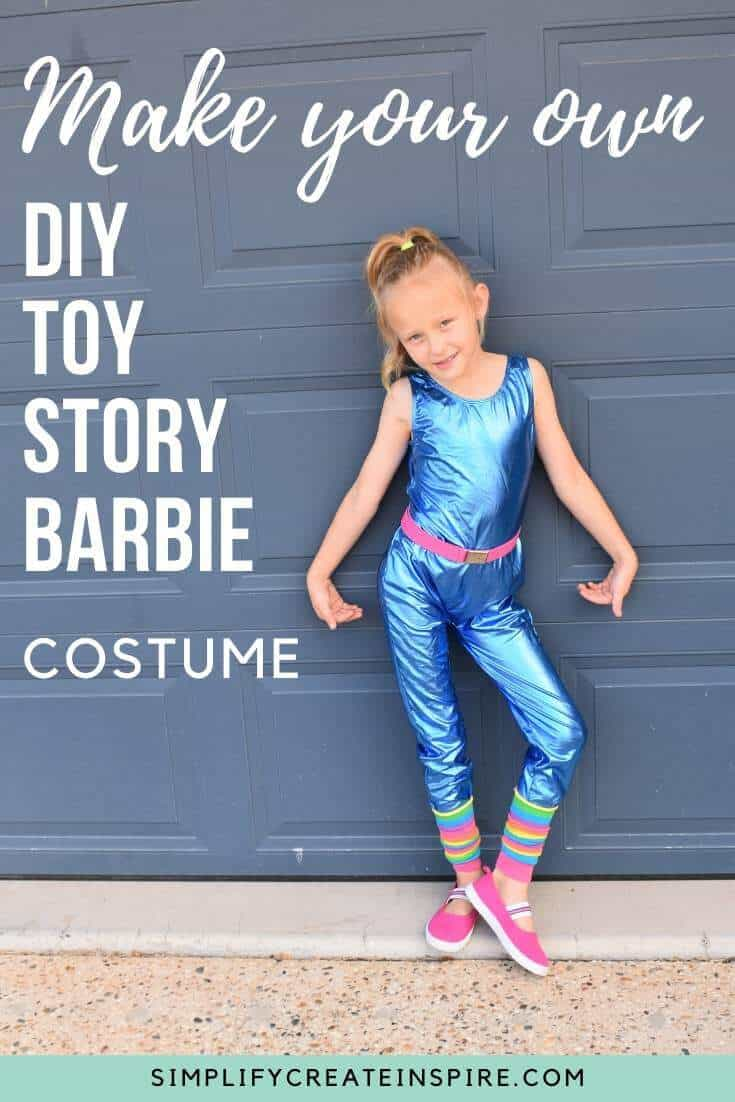 DIY Toy story barbie costume