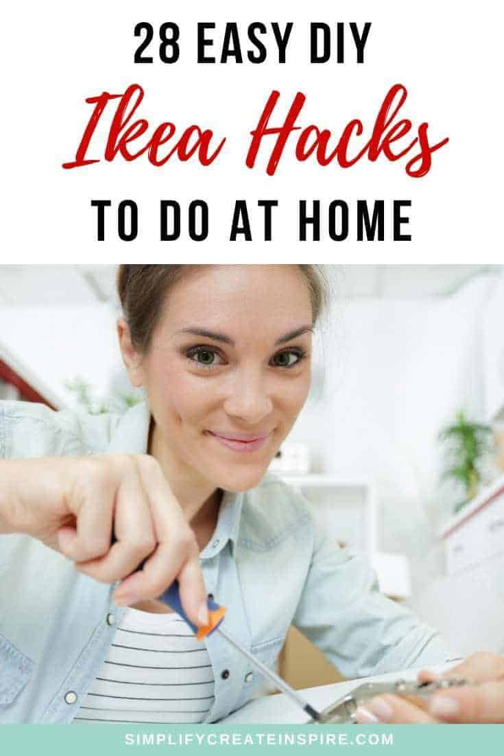 Easy DIY Ikea Hacks to do at home