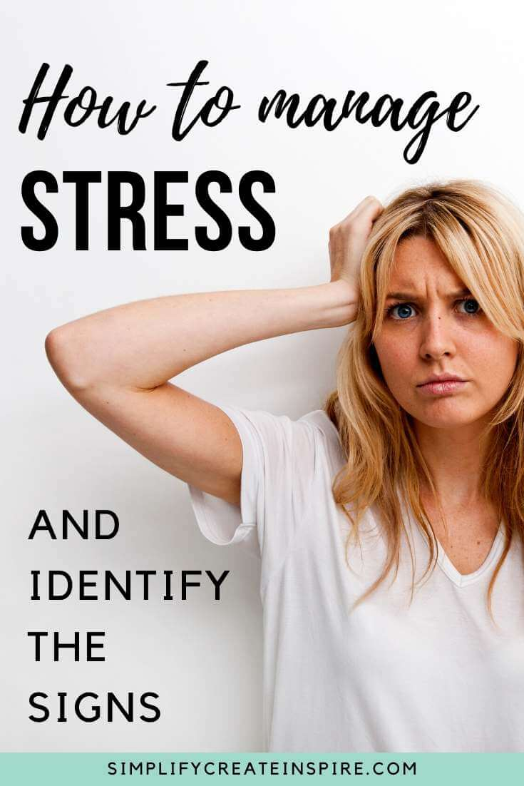 Stress management - how to identify the signs of stress