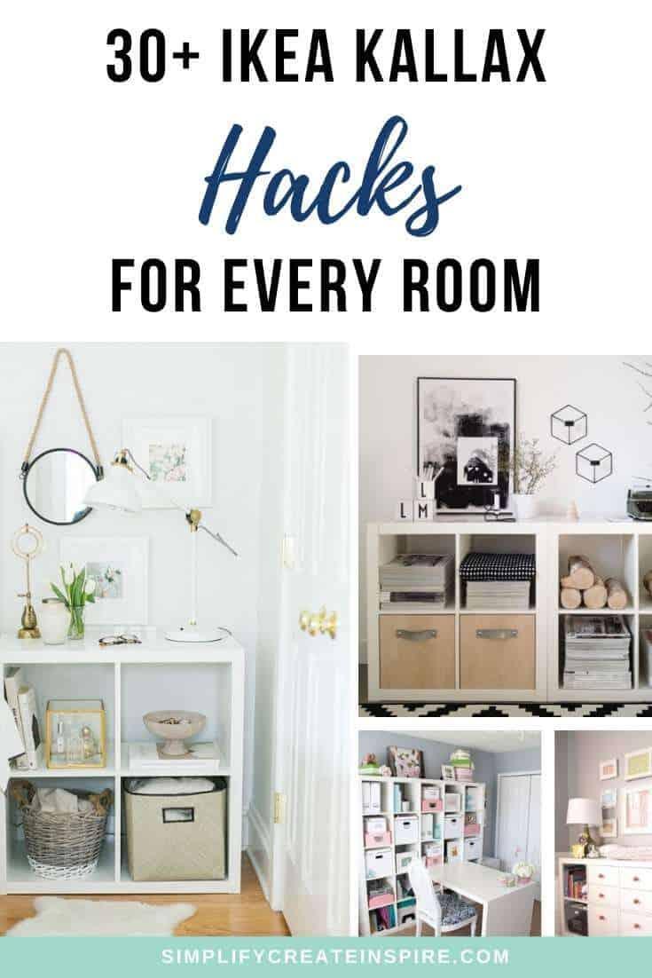 Ikea kallax inspiration and hacks