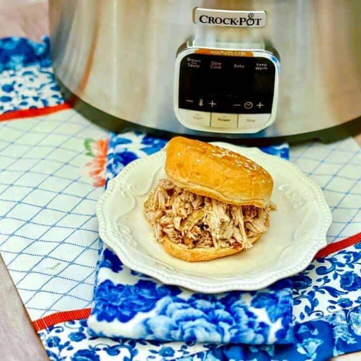 Slow cooker pulled pork with cola