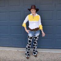 Toy Story Jessie costume DIY