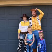 Family toy story costume