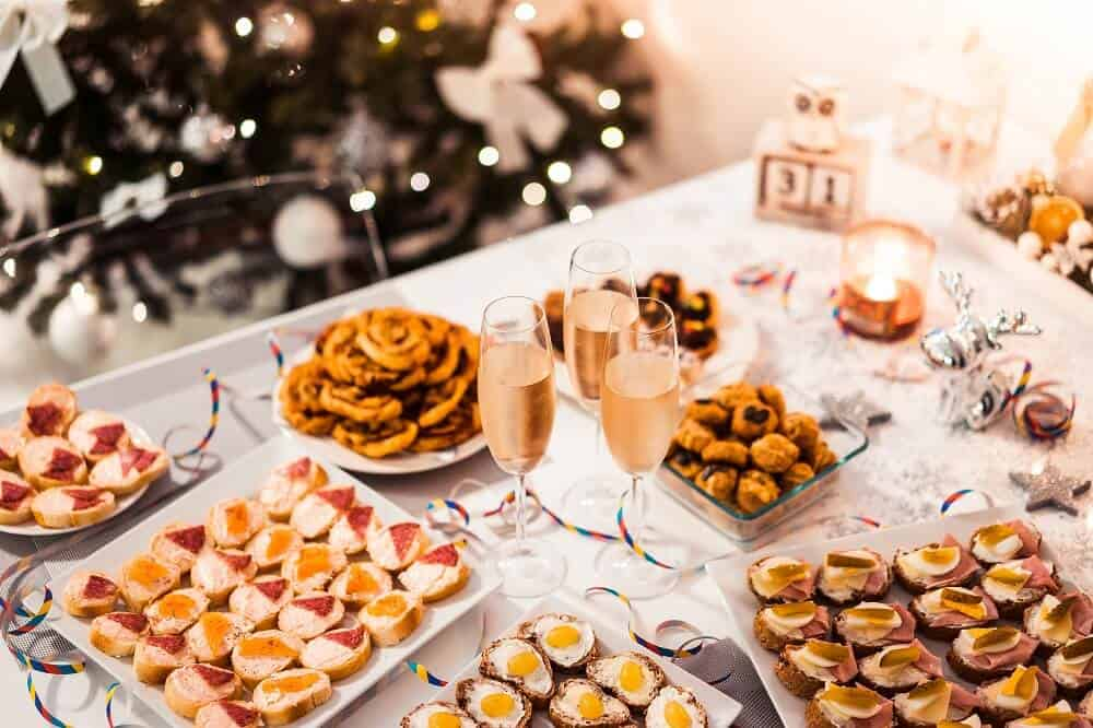 Simple New Year's Party appetisers