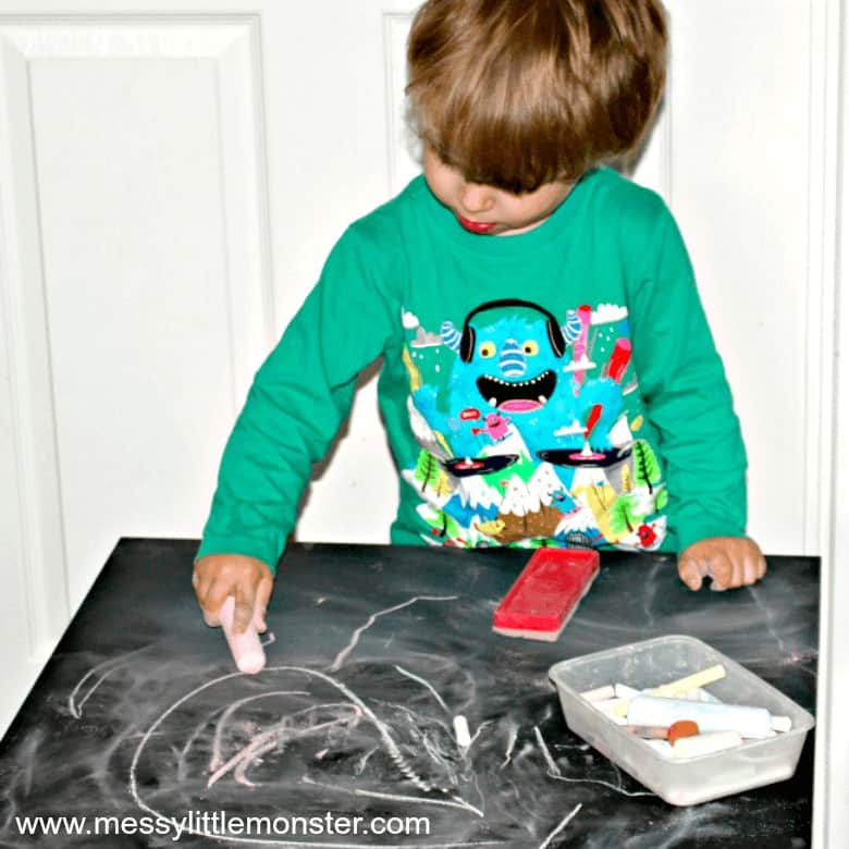 Using a chalk table 1