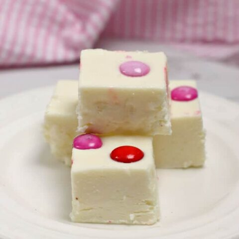Marshmallow White Chocolate Fudge
