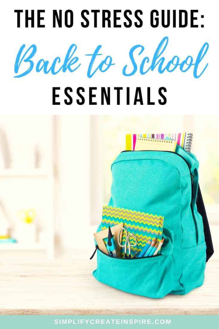 Guide to back to school essentials for kids