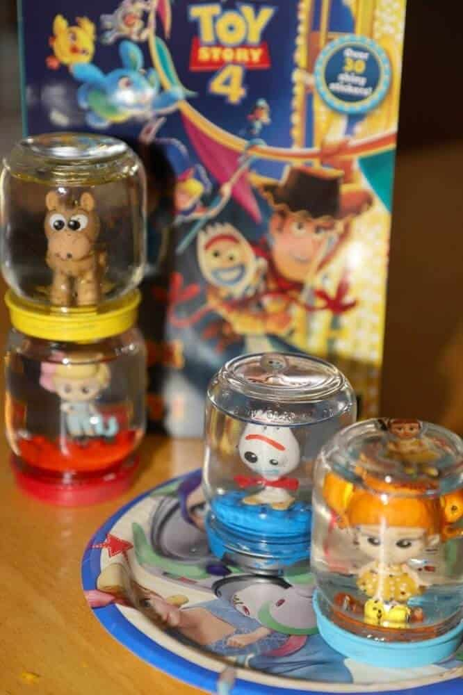 Toy story snow globe craft