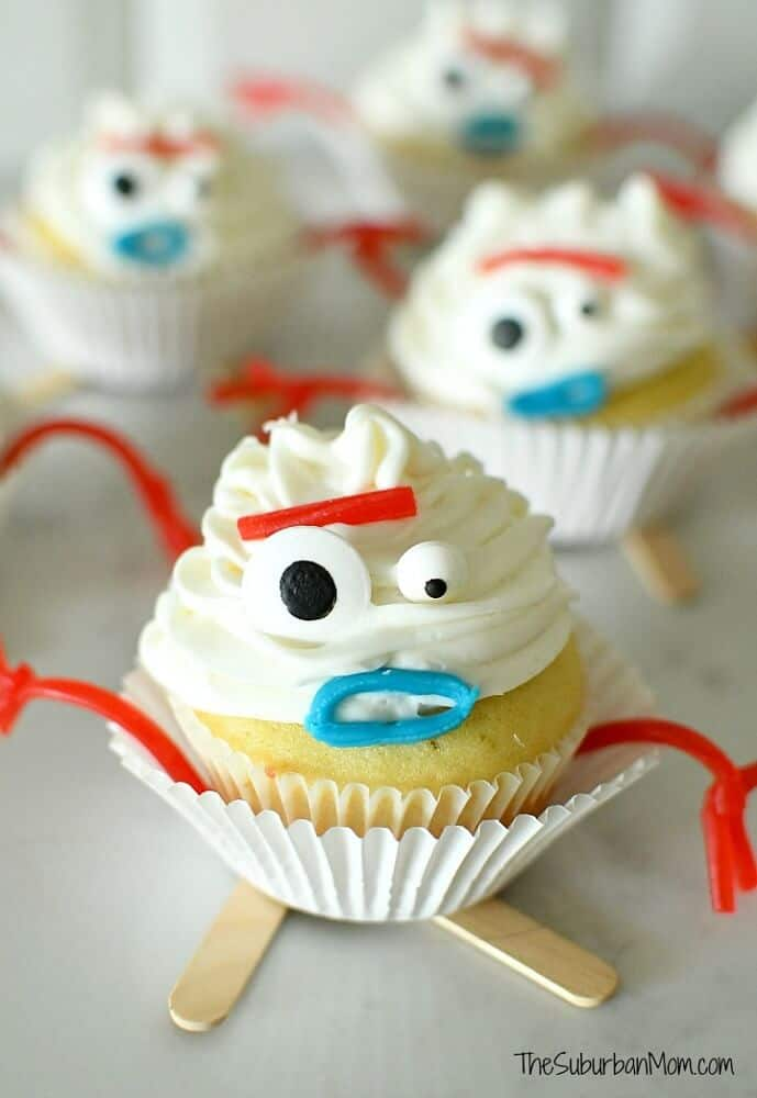 Forky Toy Story Cupcakes