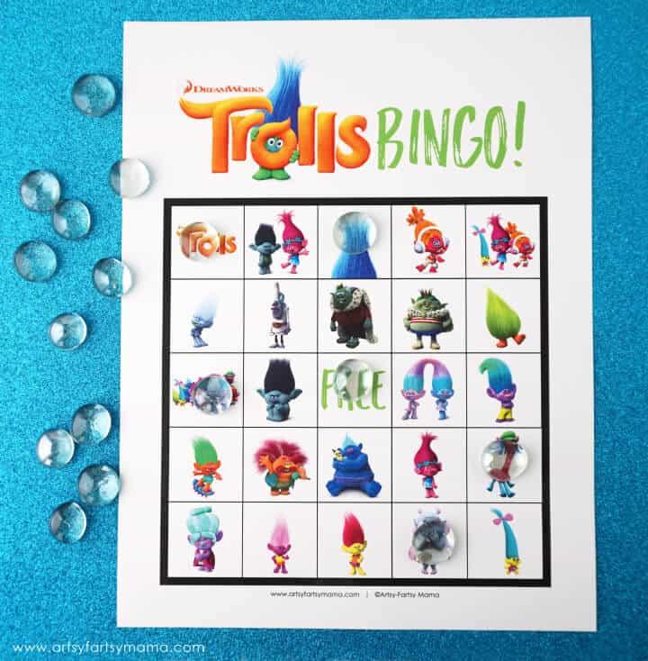 Trolls bingo