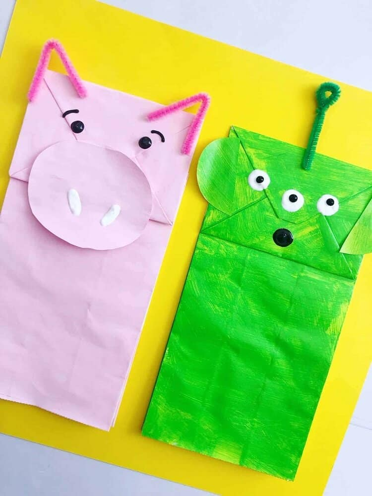 Paper bag craft